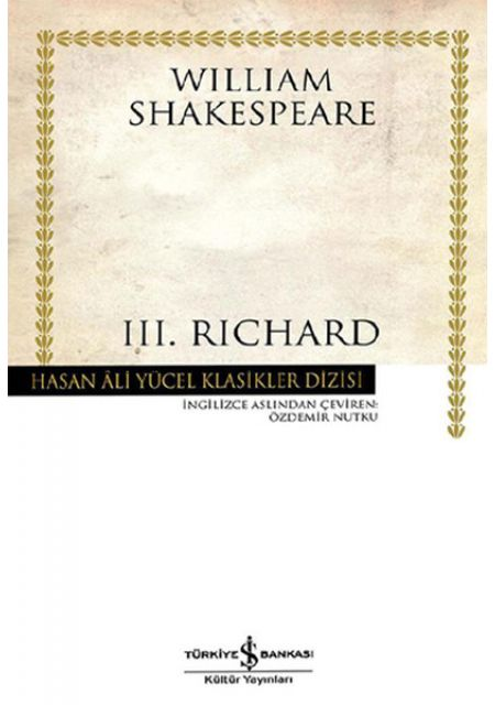 3.Richard - Hasan Ali Yücel Klasikleri