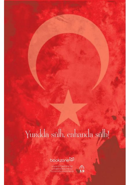 """""""Atatürk"""" şəkilli qeyd kitabçası"""