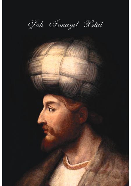 """""""Şah İsmayıl Xətai"""" şəkilli qeyd kitabçası"""