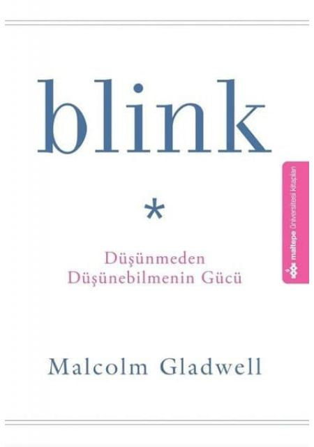 Blink Düşünmeden Düşünebilmenin Gücü